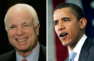 McCain vs. Obame